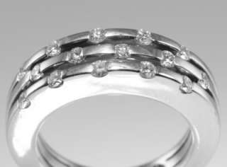 ROBERTO COIN Classica Parisienne 18ct white gold 1/2ct Diamond ring
