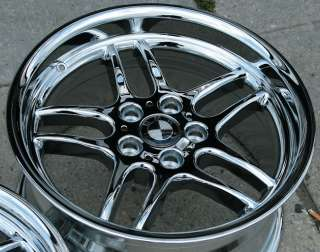 RVM CMP 18 CHROME RIMS WHEELS BMW E38 E65 7 Series