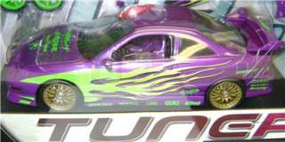 TUNERZ ACURA INTEGRA PURPLE HOT WHEELS 118