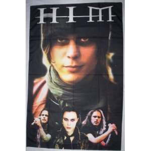 HIM VILLE VALO 5x3 Feet Cloth Textile Fabric Poster