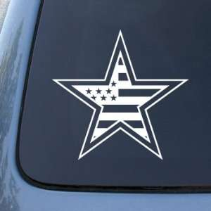 American Flag in Star   Car, Truck, Notebook, Vinyl Decal