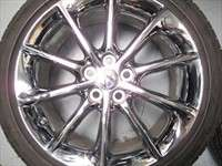 four 2012 Lexus CT200h Factory 17 Chrome Wheels Tires OEM Rims Corolla