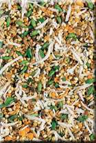LIVING WORLD PARAKEET PREMIUM SEED MIX BIRD FOOD 2 LB