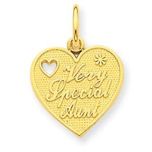 14k Very Special Aunt Charm West Coast Jewelry Jewelry