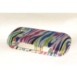 Samsung Seek M350 Hard Case Cover for Colorful Zebra