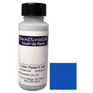 Oz. Bottle of Daytona Blue Pearl Metallic Touch Up Paint for 2010