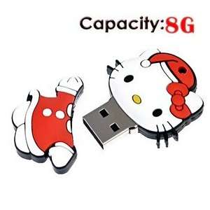8G Rubber USB Flash Drive with Cat Shape Electronics
