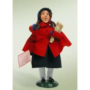 Byers Choice Carolers   Salvation Army   Girl With War