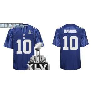 Authentic Jerseys New York Giants #10 Eli Manning BLUE Football Jersey