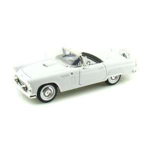 1956 Ford Thunderbird Convertible 1/18 White Toys & Games