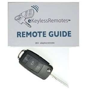 VW GTI Keyless Entry Remote Fob Flip Key and eKeylessRemotes Guide