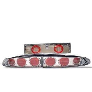 95 99 Mitsubishi Eclipse Euro Tail Lights   Chrome Automotive