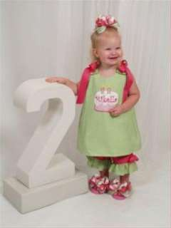 CHENILLE BIRTHDAY CAKE REVERSIBLE SET CUSTOM CREATED FOR YOUR LITTLE
