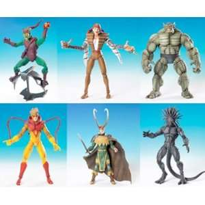 Marvel Legends Series 13 Onslaught Series Action Figure Set of 6