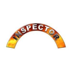 Inspector Real Fire Firefighter Fire Helmet Arcs / Rocker