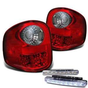 Eautolight 97 03 Ford F150 Flareside LED Tail Lights+bumper Fog Brand