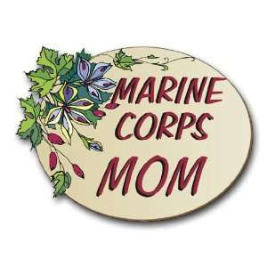 US Marine Pride Marine Corps Mom Decal Sticker 3.8 6