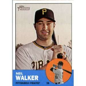 2012 Topps Heritage 259 Neil Walker   Pittsburgh Pirates