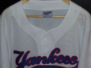 EC NEW YORK YANKEES MLB JERSEY SHIRT MAJESTIC MENS XL