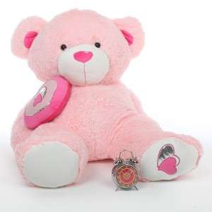 Cuddly 47 Pink Heart Teddy Bear