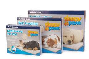 ANCOL SELF HEATING PET PAD FOR DOGS & CATS SMALL, MEDIUM, LARGE BRAND