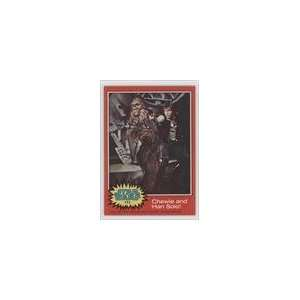 Star Wars (Trading Card) #111   Chewie and Han Solo