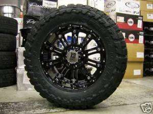 20 XD Hoss 795 Black Toyo Open Country MT 35x12.50 20