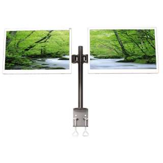 Dual/Two LCD Monitor Stand Free Standing   Up to 24 853001003002