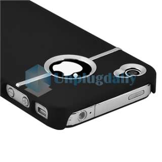 Thin Case Skin Cover Accessory For Apple iPhone 4 4G 4th Black