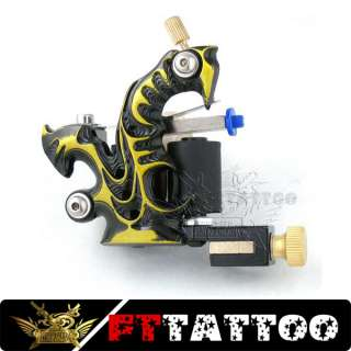 Tattoo Machine Gun Supply 10 Wrap Coil Casting Fttattoo