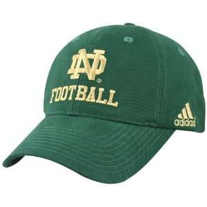 Adidas Notre Dame Fighting Irish Green Game Day Hat