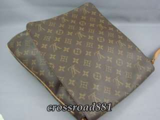 Authentic Louis Vuitton Monogram Large Musette Messenger Bag Great