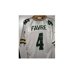 Green Bay Packers Replica Light Jersey   Favre Sports