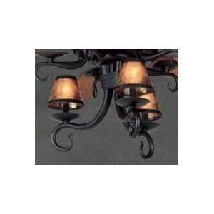 com Casablanca KG86 89 Textured Matte Black Wilderness Fan Light Kit