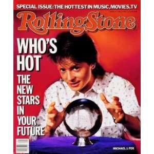 Michael J. Fox / Rolling Stone Magazine Vol. 474, May 22, 1986, Movie