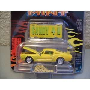 Racing Champions Mint Series Yellow 1968 Ford Mustang #3