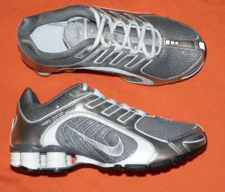 Womens Nike Shox Navina + Premium shoes sparkle Gray