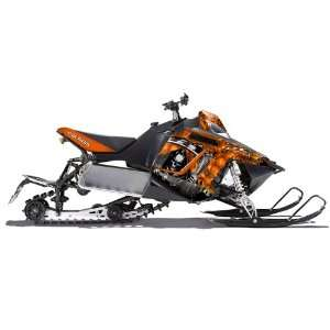 AMR Racing Fits Polaris Pro Rmk Rush Snowmobile Graphic Kit Reaper