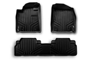 2011 2012 Dodge Durango Premium MAXFLOORMAT Floor Mats Full Set Black