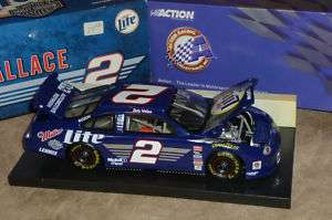 Rusty Wallace #2 1999 Miller Lite Die Cast 124 Scale