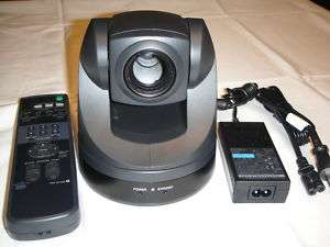 Sony EVI D70 Pan/Tilt/Zoom Camera SKYPE WEBCAM COLOR CCTV VIDEO PTZ