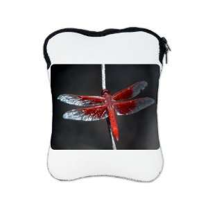 iPad 1 2 & New iPad 3 Sleeve Case 2 Sided Red Flame
