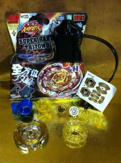 Beyblade Metal Fusion Fight 4D BB 109 System Beat Lynx TH170WD