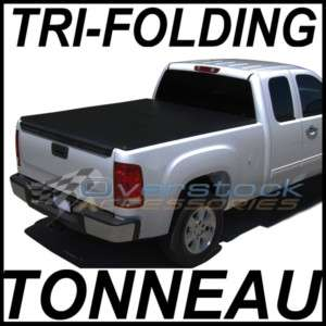 Silverado or GMC Sierra 5.7ft Short Bed TRI FOLD Tonneau Cover