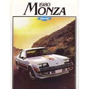 1980 CHEVROLET MONZA Sales Brochure Literature Book