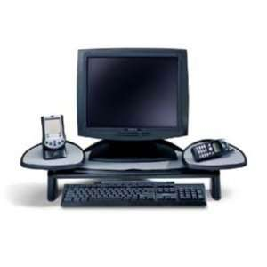 Flat Panel Height Adjustable Monitor Station
