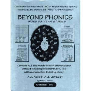 Beyond Phonics Word Pattern Stories Textbook