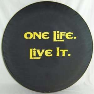 SpareCover® Brawny Series   One Life. Live It. 30 Yellow