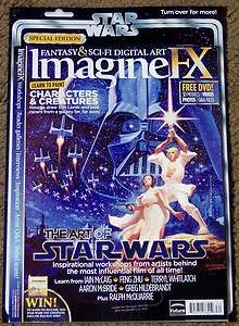 IMAGINE FX Sci Fi + DVD October 2011 ART Of STAR WARS Characters