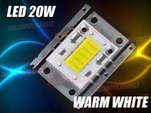 20W Cool White High Power 1000LM LED Lamp Light 14V L